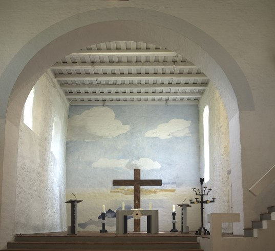 St. Cyriacus Kellinghusen, Blick in den Altarraum